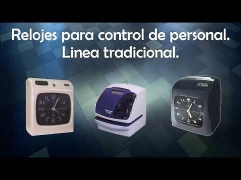 Relojes De Control Personal, Asistencia Tiempos