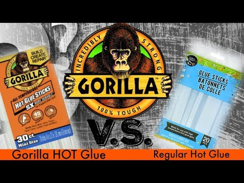 Gorilla Hot Glue VS Regular HOT Glue – Which is Better? The Comparison Hot Glue Test – Requested