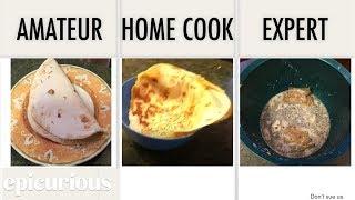 4 Levels of Quesadillas: Amateur to Food Scientist (Epicurious Parody) [Read Description]