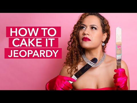 Jeopardy: How To Cake It Edition – Can YOU Guess!?
