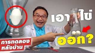 How To Take The EGG Out Of The Bottle?!?
