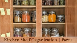 Indian Kitchen Organization | Kitchen Shelf Organization - Part 1| Ikea Inspired