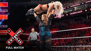 FULL MATCH - Alexa Bliss vs. Nia Jax - Raw Women's Title Extreme Rules Match: WWE Extreme Rules 2018