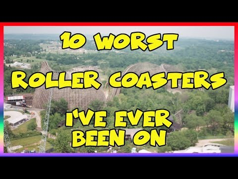 The 10 Worst Roller Coasters I've Ever Been On - Sir Willow's Park Tales ep 49