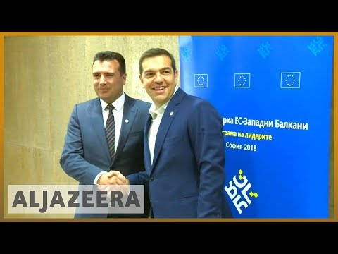 🇲🇰 🇬🇷 Severna Macedonia is born: Athens and Skopje announce 'name' deal | Al Jazeera English