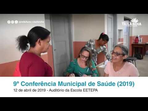 9ª Conferência Municipal de Saúde (2019) – Prefeitura de Tailândia