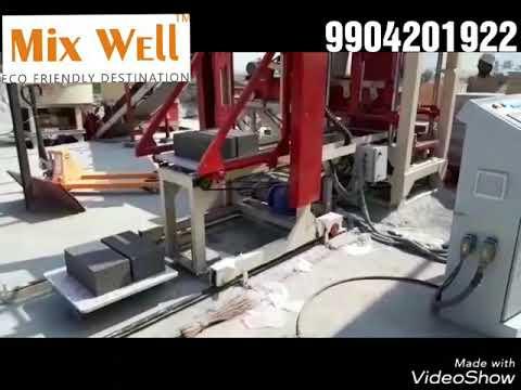 Concrete Block Making Machine
