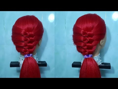 Easy Intricate Knotty Braid Hairstyle Tutorial | T&T