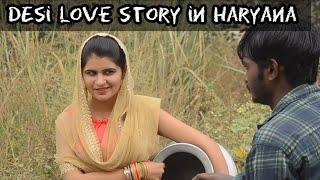 Desi Love Story in Haryana ft. Pooja Khatkar | Hum Haryanvi Comedy 2019