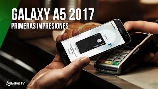 Galaxy A5 2017, primeras impresiones