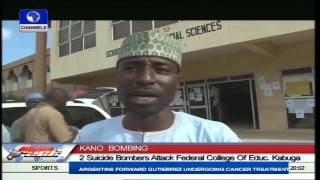 15 Killed As 2 Suicide Bombers Attack College Of Education In Kano