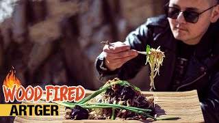 Most Epic Mongolian Tsuivan Recipe | WOOD FIRED With BOLDOO