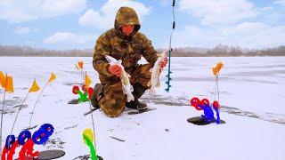 Ловля щуку зимой на жерлицу