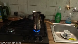 Gasflasche 11 kg erneuert (Gasherd Küche) nach 1,5 Jahren! Mit Links