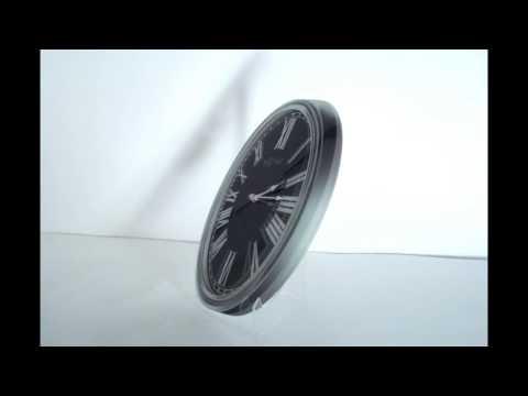 Video Nextime Houdini 3076 nástěnné hodiny 1