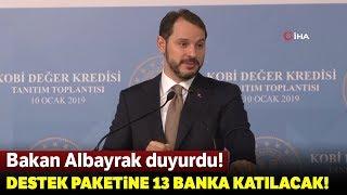 Bakan Berat Albayrak, Yeni Kredi Paketini Açıkladı