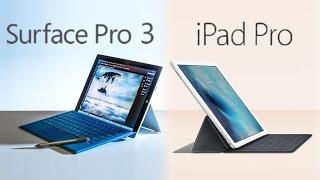 Apple iPad Pro vs. Surface Pro 3