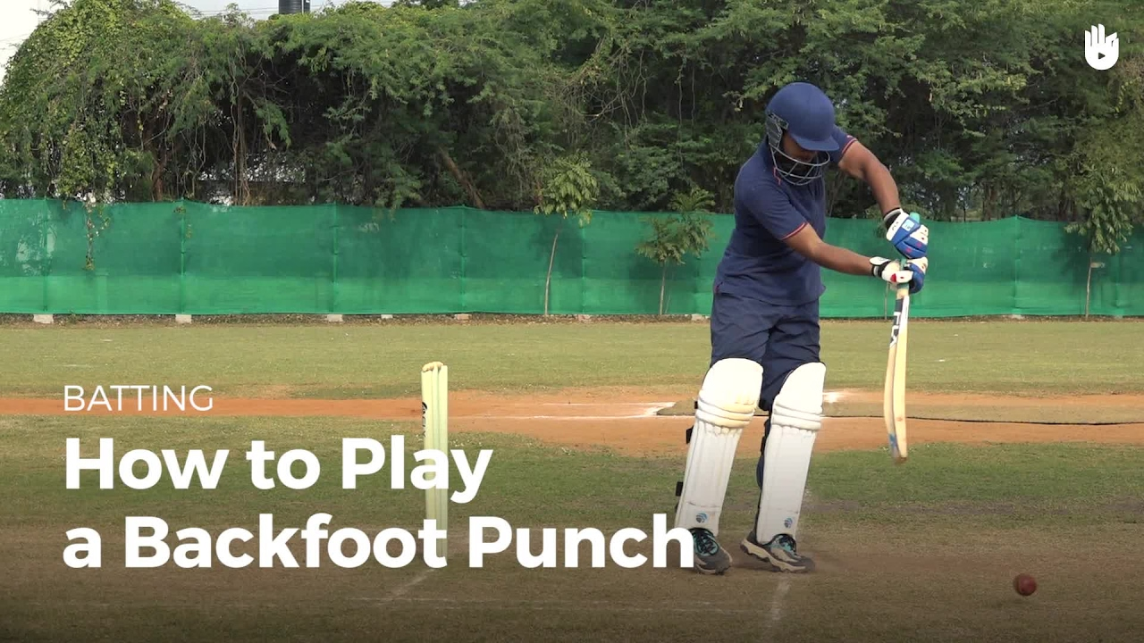 How to Play a Back Foot Punch - How to Play Cricket   Sikana