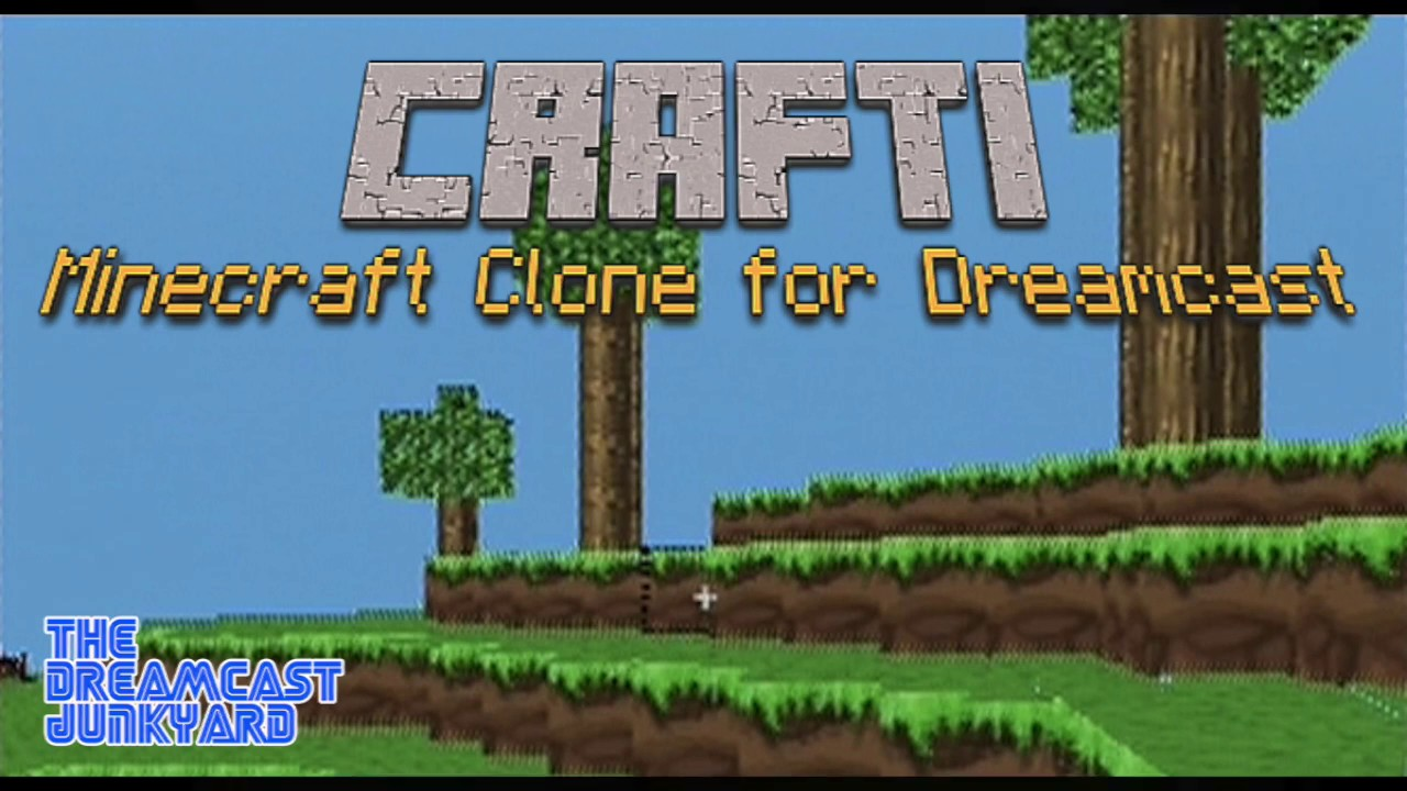 The Dreamcast Now Has Its Own Minecraft Clone