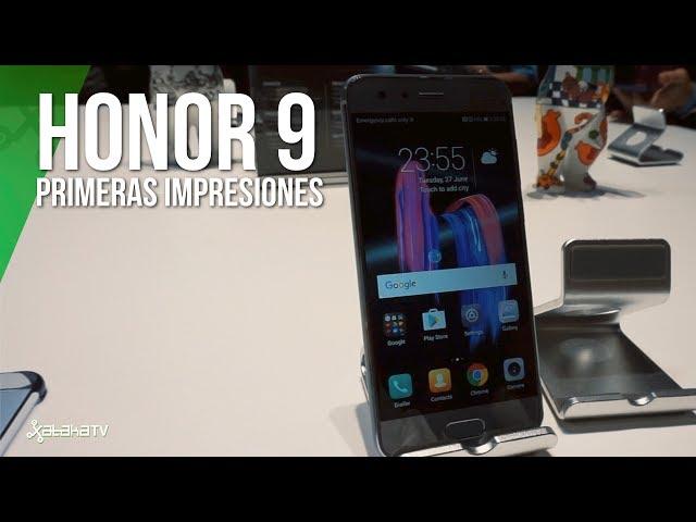 Honor 9, primeras impresiones