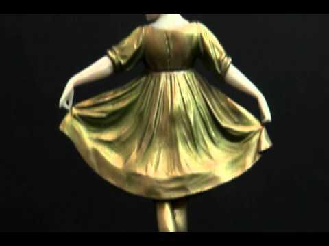 F. Preiss Bronze & Ivory Ballerina