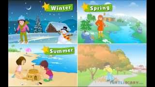 Learn  All About The Four Seasons At Www.turtlediary.com