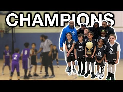 **MUST WATCH** YOUTH BASKETBALL CHAMPIONSHIP GAME (VERY INTENSE)