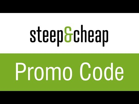 Steep & Cheap Promo Code December 2019 | Up to 65% OFF