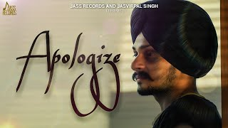 Apologize | (Official Video) | Kirdaar | Latest Punjabi Songs 2020 | Jass Records