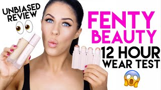 FENTY BEAUTY BY RIHANNA | 12 HR TEST & REVIEW! | IS IT REALLY WORTH THE HYPE??? NO BS!!