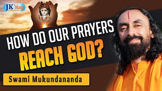 How Do Our Prayers And Chantings Reach God? 🤔🤔 | God's Grace |  Q&A With Swami Mukundananda