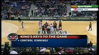 Derrick Rose vs. Brandon Jennings: First ever regular season meeting (11.30.09)