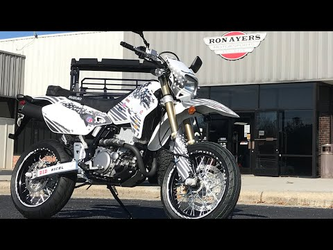 2021 Suzuki DR-Z400SM in Greenville, North Carolina - Video 1