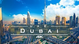 Dubai, United Arab Emirates 🇦🇪 – by drone [4K]