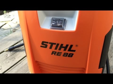 Stihl RE 88 compact pressure washer overview