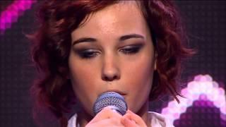 Bella Ferraro - Skinny Love - The X Factor Australia 2012 Audition (FULL) HQ