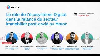 Avito réunit des experts de l'immobilier pour analyser le rôle du digital dans la relance du secteur