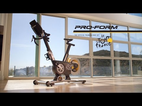 ProForm Tour de France TDF Pro 5.0 Indoor Cycle - Presentation