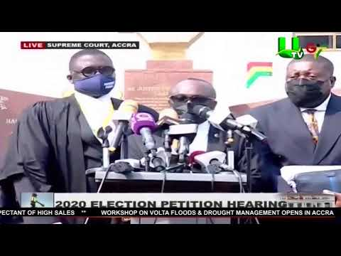 Live Broadcasting of 2020 Election Petition Hearing