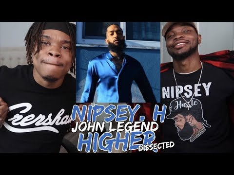 DJ Khaled - Higher Ft. Nipsey Hussle, John Legend - REACTION/DISSECTED