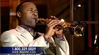 Saxophonist Merlon Devine Plays ARISE on Daystar TV