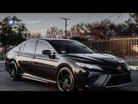 2018 Toyota Camry 20inch Marquee Wheels 3259 Black Extreme Concave Rims