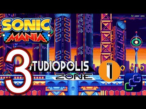 Sonic Mania Walkthrough - Part 7 - Hydrocity Zone Act 1-2 by