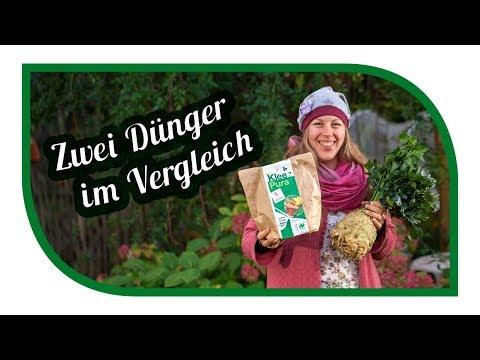 Düngen im Garten, biologisch 🍀 KleePura und Guano im Vergleich