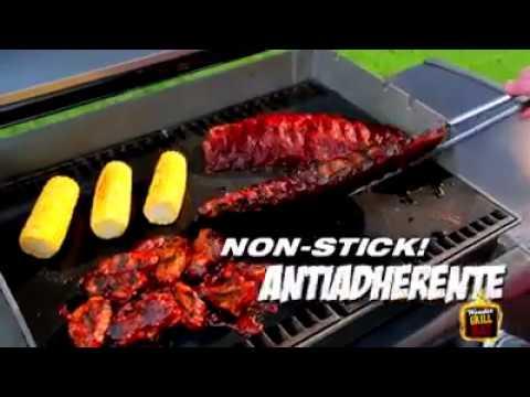Accesorio Antiadherente y Reutilizable Mat Grill Para Barbacoas.