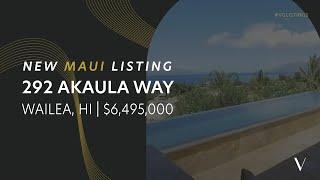 292 Akaula Way | Wailea Highlands Luxury Estate For Sale | Wailea, Maui, HI