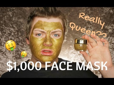 Moisturizing facial mask video
