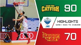 #Highlights VBA 2018 Playoffs 1    Game 1: Cantho Catfish vs Saigon Heat 21/08