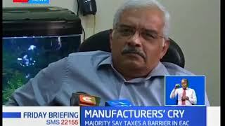 Manufacturers decry proposed tax measures