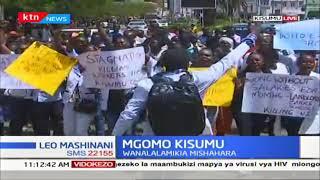 Wafanyikazi wa Kauti ya Kisumu wagoma
